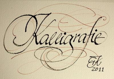 Kalligrafie schriftzug